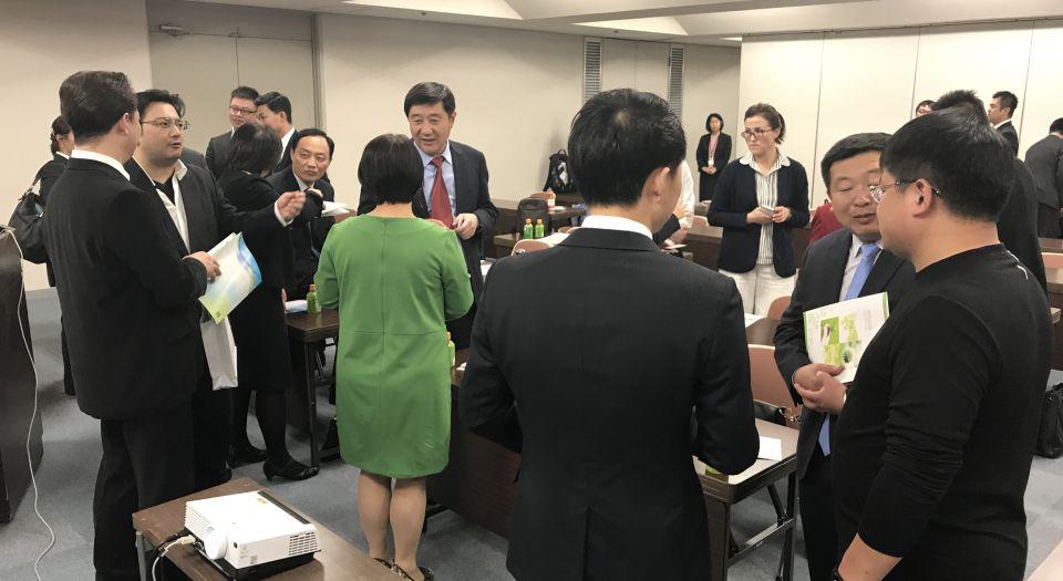 策划安排参观日本夏普集团综合技术研发中心