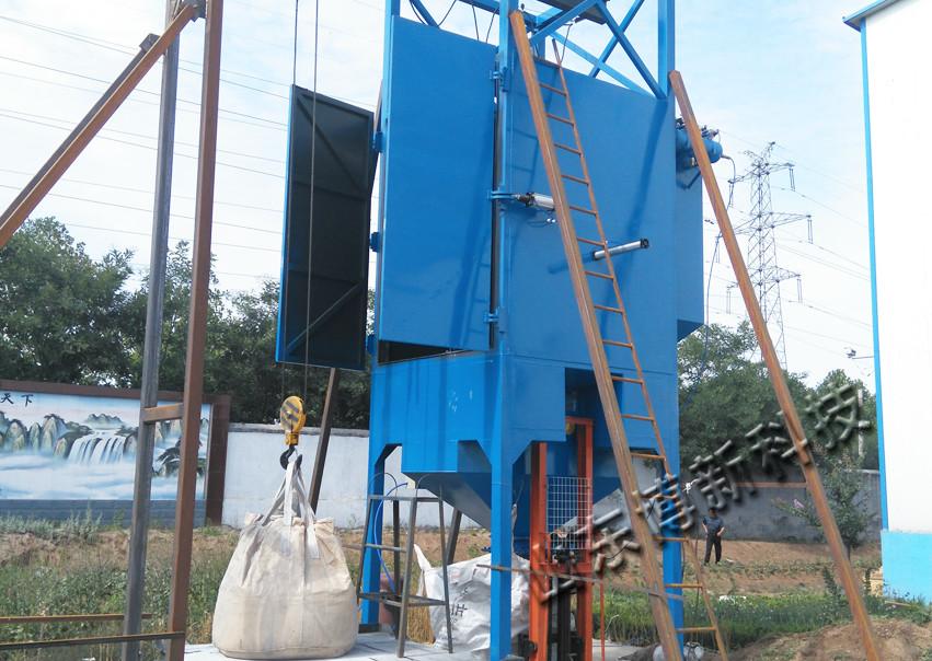 水泥吨袋拆包机