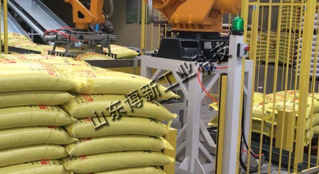 袋料码垛机器人